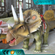 High Simulation Walking with Dinosaur Ride for Sale