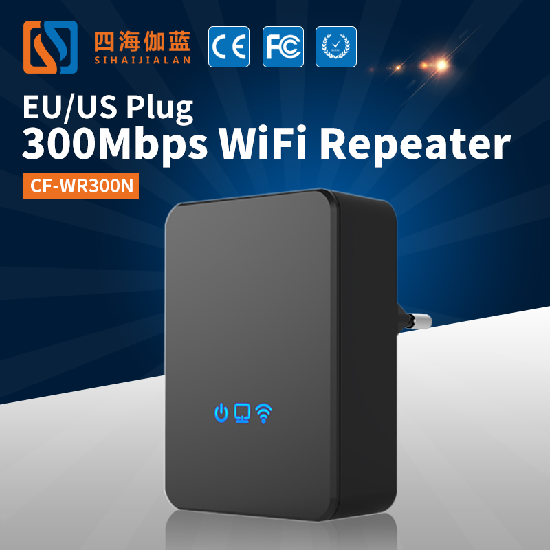 Comfast Amplifier 5000 Watts Uhf Radio Repeater 2g/3g/4g Signal Booster/Repeater Digital TV Repeaters CF-WR300N