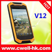 Hot Sale 4.5 Inch Screen Lamborghini V12 Quad Core Dual SIM Card Android 4.2 WIFI GPS Rugged Waterproof Cell Phone