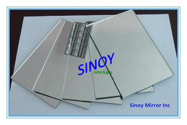 Frameless high quality craft mirrors rectangle, mirror craft, bulk craft mirror made of quality float glass
