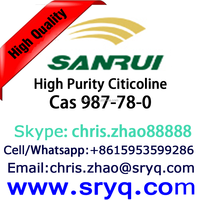 High Quality Cas 987-78-0 Citicoline, High Purity Citicoline or CDP Choline
