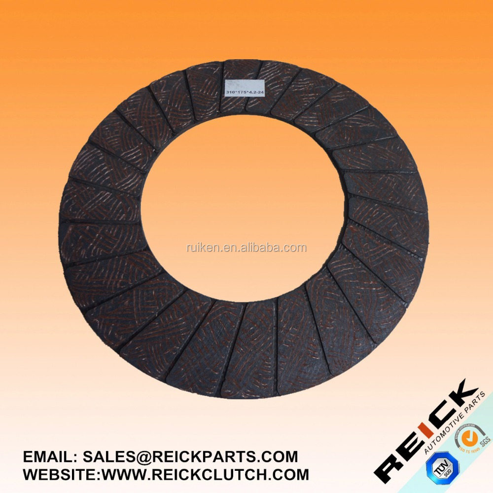 FRICTION CLUTCH DISC FACING RKMF52 SIZE 300*175*4.2-24