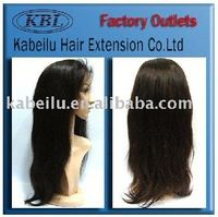 Top selling brazilian hair full lace wig,wig net
