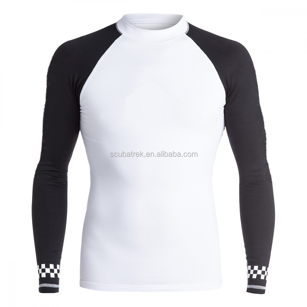 custom printed rash guard uv protection