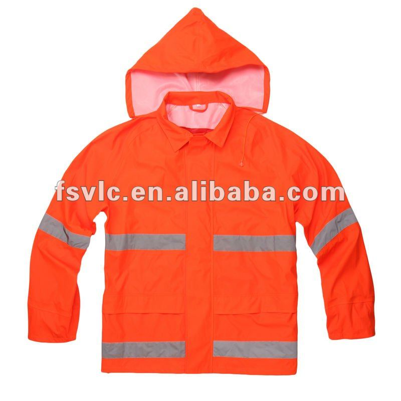 fire resistant high visibility waterproof jacket