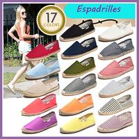 Wholesale Customized Espadrilles Casual Canvas Shoes Women Shoe