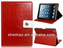 Notebook PU Leather Flip Case for iPad Mini,Notebook Case Mobile Cover for iPad Mini