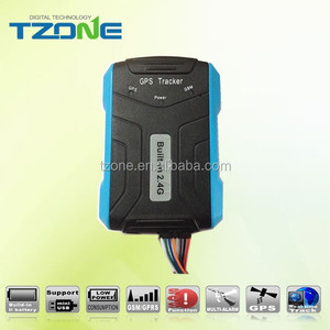 cold logistic vehicle GPS tracker built in 433Mhz RFID receiver compatible with 433Mhz temperature sensor tag