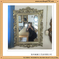 Wooden CNC Machine Carved Mirror Frame