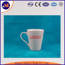 Blank white cheap bulk wholesale porcelain ceramic mugs from China manufacturer