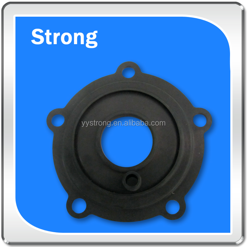 OEM auto spare rubber molded parts small colored silicon grommets