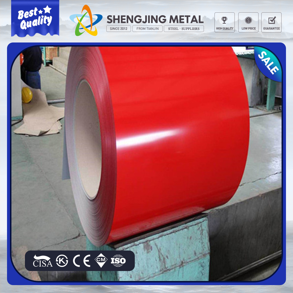 color coated steel coil/galvanized iron/Building construction/PPGI SHEET