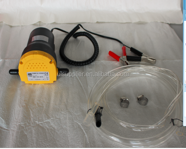 S80280 Portable Mini Oil Extractor Pump - 12V DC, 60 Watt, 3L/Min. Flow Rate
