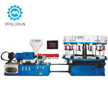 SP220 Automatic 2 Color Rotary Direct PVC Rubber Sport Shoes Injection Moulding Making Machines