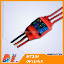 Maytech rc airplane ESC 25A brushless model plane speed controller for model airPlane/Helicopter high quality