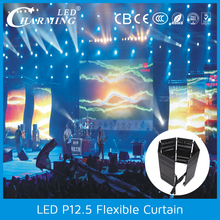 soft led stage curtain for stage backdrops