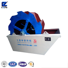 180tph capacity wheel bucket sand washing plant