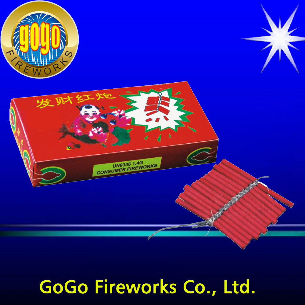 K0052 Red cracker fireworks chemical formula fireworks good lucky firecrackers packing in 320/10/26