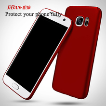 Shockproof simple ultrathin and slight full protective wholesale and free sample hard PC cell phone case for Samsung Galaxy S7