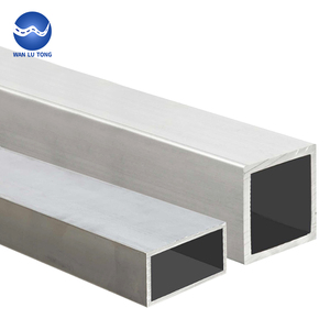 Factory direct sale rectangular aluminium square tube