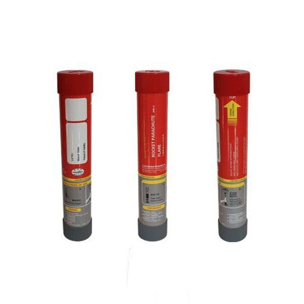 marine rocket parachute flare signal for lifeboat