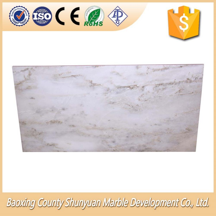 High Quanlity Marble Floor White Tile Polished For Wall Cladding