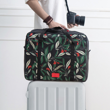 Original Design Floral Ladies Folding Travel Style Luggage Bags