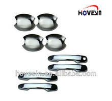 HVS Custom made auto parts mold car auto mold chrome-plated ABS car door handle cover for auto accessories
