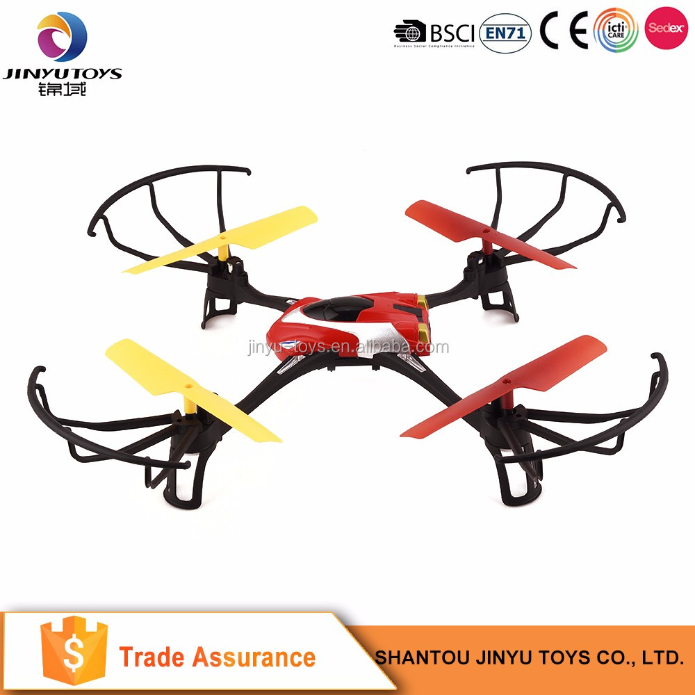 Electronic remote control led flying toy rc quadcopter ufo with light