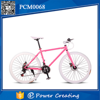 Attractive girls style bicycle cheap sale 26inch city road bike