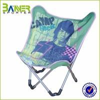 promotion custom logo aluminium folding chair