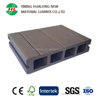 Recycled Hollow WPC Wood Plastic Conposite Floor for Swimming Pool Garden