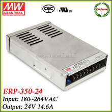 Meanwell 350w power supply with PFC function ERP-350-24