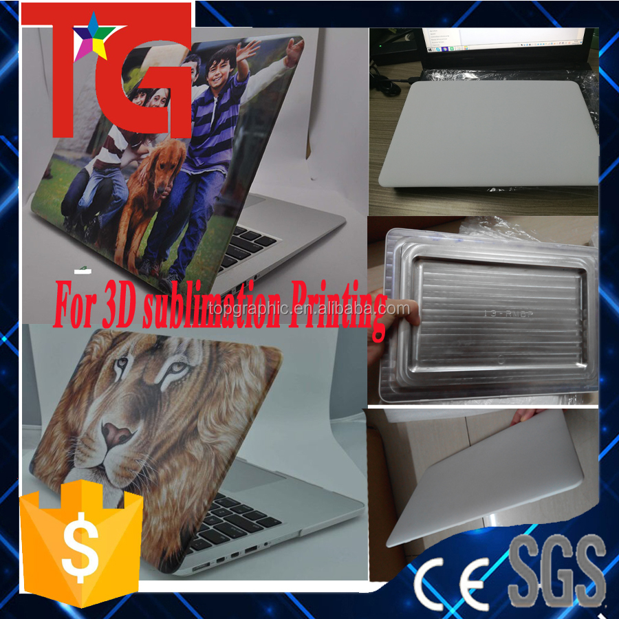 sample available , for full color printing ,sublimation blanks laptop case for Macbok Pro 12'' 13'' full color printing