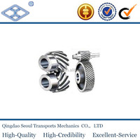 45 degree M3 T15 JIS standard C45 steel sintered large machining steel custom Crossed helical gears