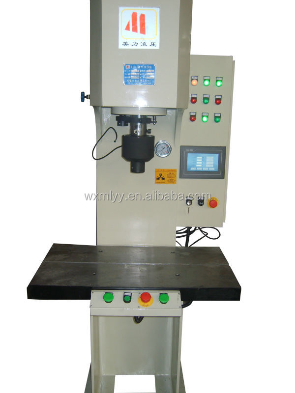Hydraulic Press Punch Machine Single Column Hydraulic Punch Machine