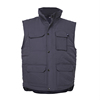 Wholesale 2018 padding vest multi pockets safety work vest