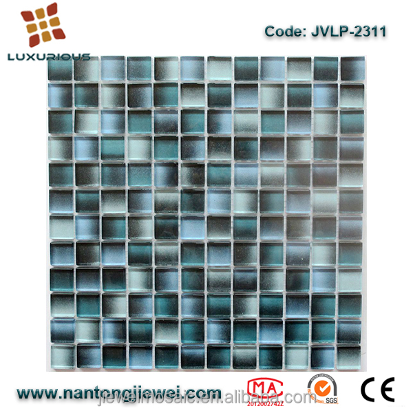 Martini Mosaic Essen 1'' x 2'' Glass Subway Tile in Cafe Mocha JVLP2311