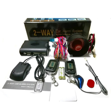 best price icars auto 2 way ignition security car alarm systems high quality for cars