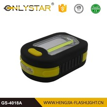 Factory supply multifunction 3w super bright flashlight led inspection cob worklight