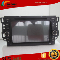High brand material cd player double din car gps dvd for chevrolet captiva