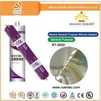 fast cure strong bonding glass roof silicone sealant