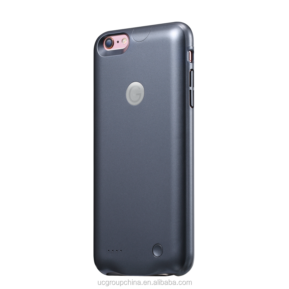 Newest Ultra Slim Battery Charger Case Extra Battery For iphone 6 6s, External Battery Case