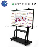 Star Player 55''65''75''80''84'' LCD/LED Smart Whiteboard Infrared Interactive Touch Screen Whiteboard widely used in school
