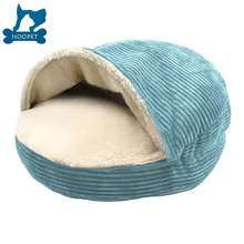 Hot sale Soft Custom Size Popular pet bed cave, luxury pet bed