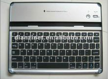 for iPad 2 Aluminum bluetooth keyboard interface standard keyboard ,black color
