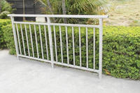 outdoor or balcony modern steel gates and fences