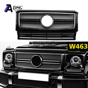 Mercedes G W463 AMG look Front bumper ABS grill 2013 - IN