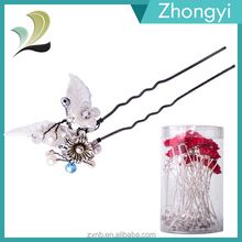 2015 Fashion Hair Accessories Manufactures China Types Of Hair Pins For Wholesale