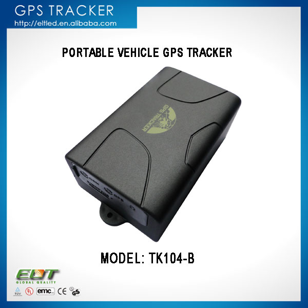 TK104-B real time sos global SMS GPRS gps tracker sirf3 chip